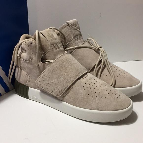 Adidas Tubular Invader Strap Shoes Size
